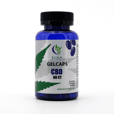 KIND CBD gelcaps 60ct